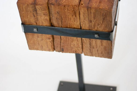 Side Table / Reclaimed Mini Beam