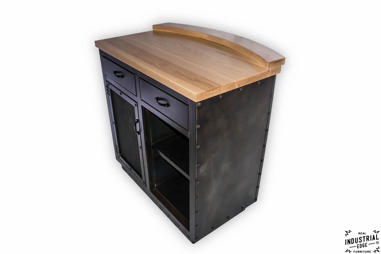 Locking Bar Cabinet
