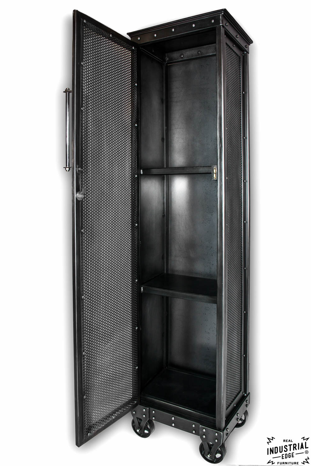 Industrial Rolling Locker Real Industrial Edge Furniture