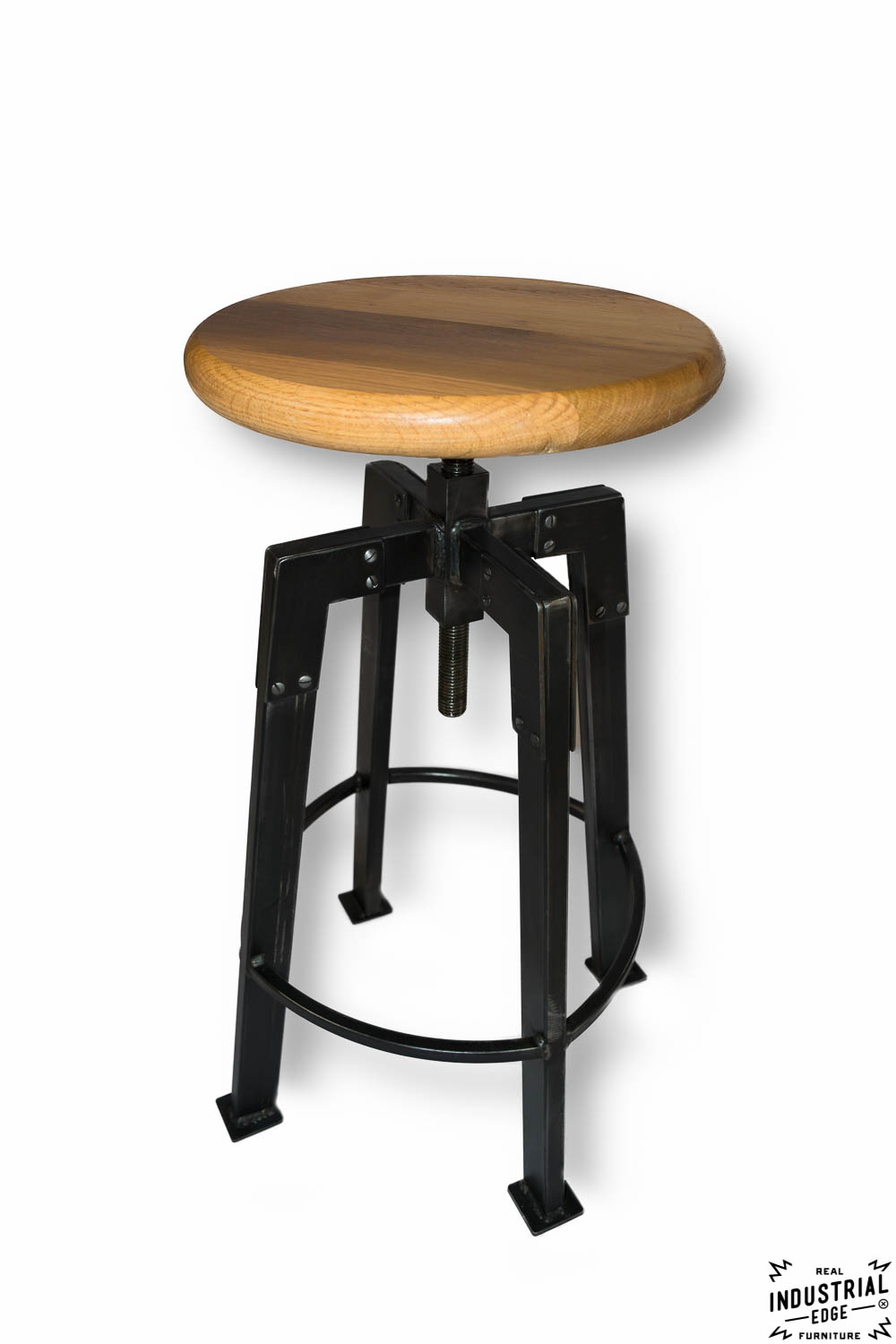 Industrial Chic Bar Stool Real Industrial Edge Furniture