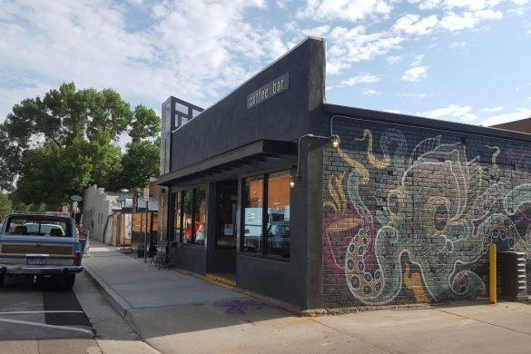 Exterior Custom Cafe Build-out for Dark Heart Coffee Bar