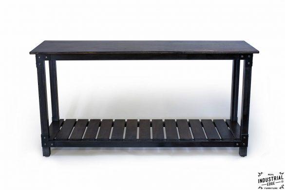 Custom Console Table / Steel & Wood