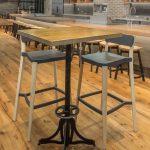 Custom Steel Bistro Table Bases